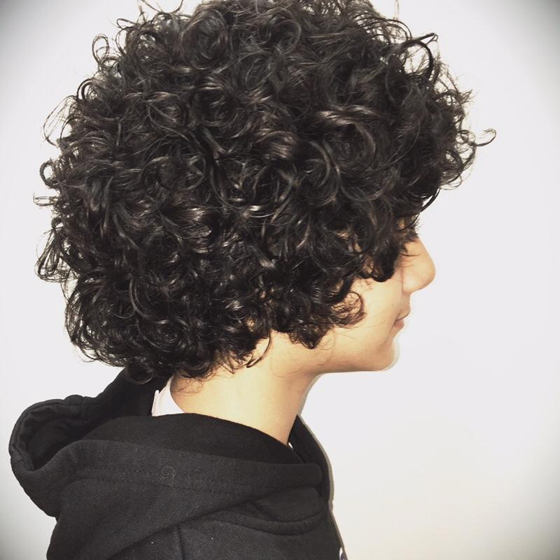 カーリーヘア最高 Hiroo Salon Blog Toni Guy Hairdressing